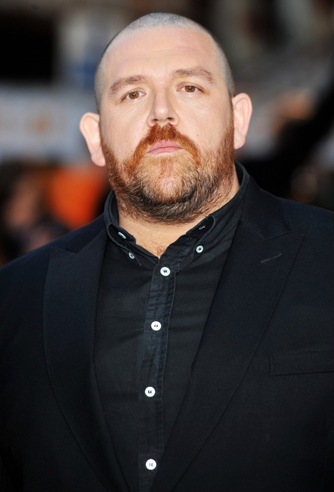 Nick Frost<br>The UK Film Premiere of The Adventures of Tintin: The Secret of the Unicorn - Arrivals