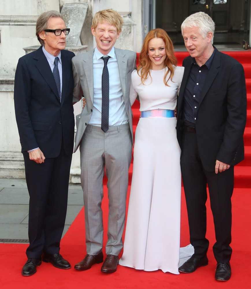 Bill Nighy, Domhnall Gleeson, Rachel McAdams, Richard Curtis<br>About Time UK Premiere - Arrivals