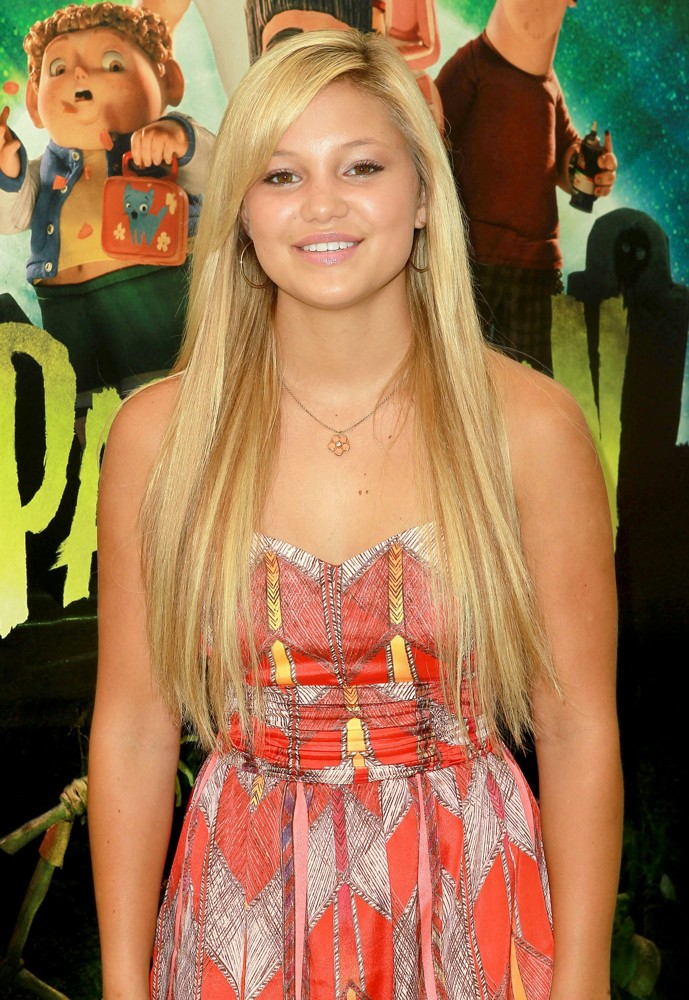 Olivia Holt<br>World Premiere of ParaNorman