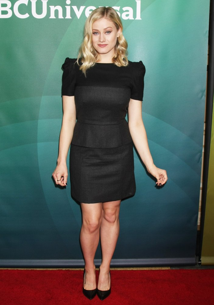 Olivia Taylor Dudley<br>2016 NBCUniversal Press Tour