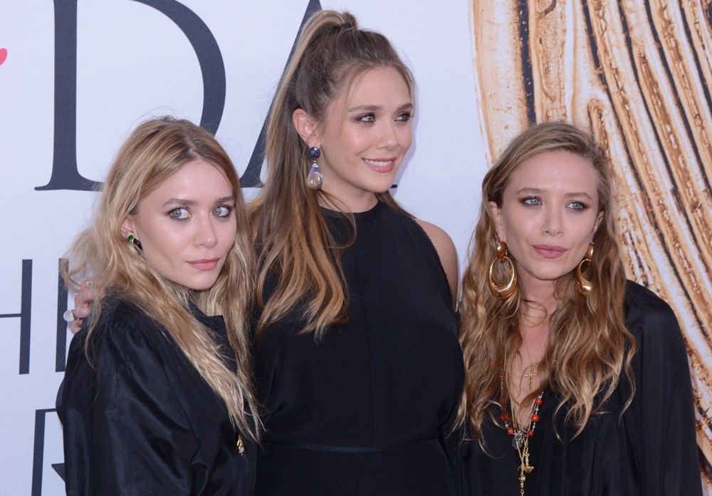 Mary-Kate Olsen, Elizabeth Olsen, Ashley Olsen<br>2016 CFDA Fashion Awards - Red Carpet Arrivals