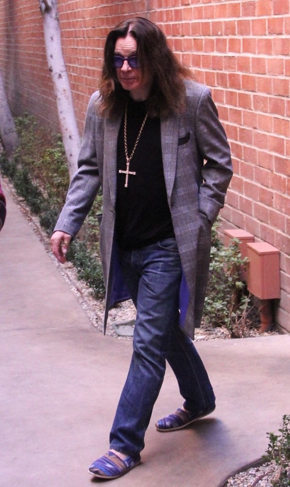 Ozzy Osbourne<br>Ozzy Osbourne Out and About in Beverly Hills