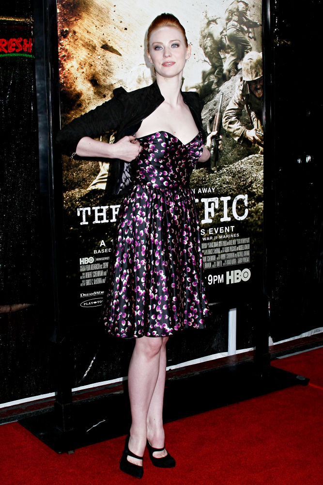 Deborah Ann Woll<br>Los Angeles Premiere of HBO's new mini series 'The Pacific'