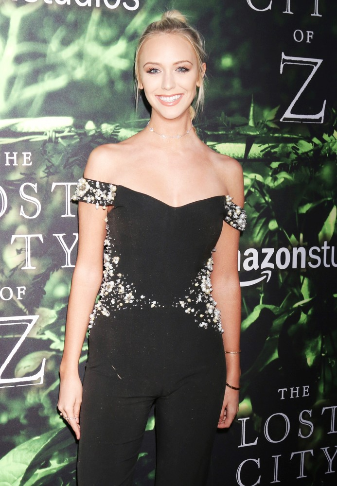 Paige Mobley<br>The Lost City of Z Premiere