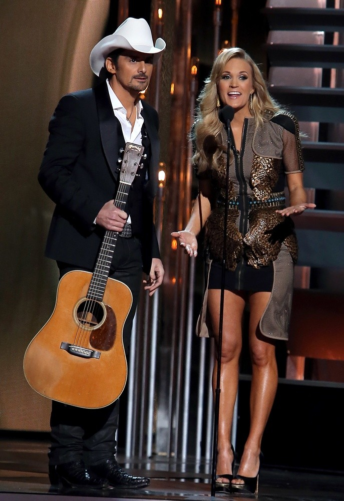 Brad Paisley, Carrie Underwood<br>47th Annual CMA Awards - Show