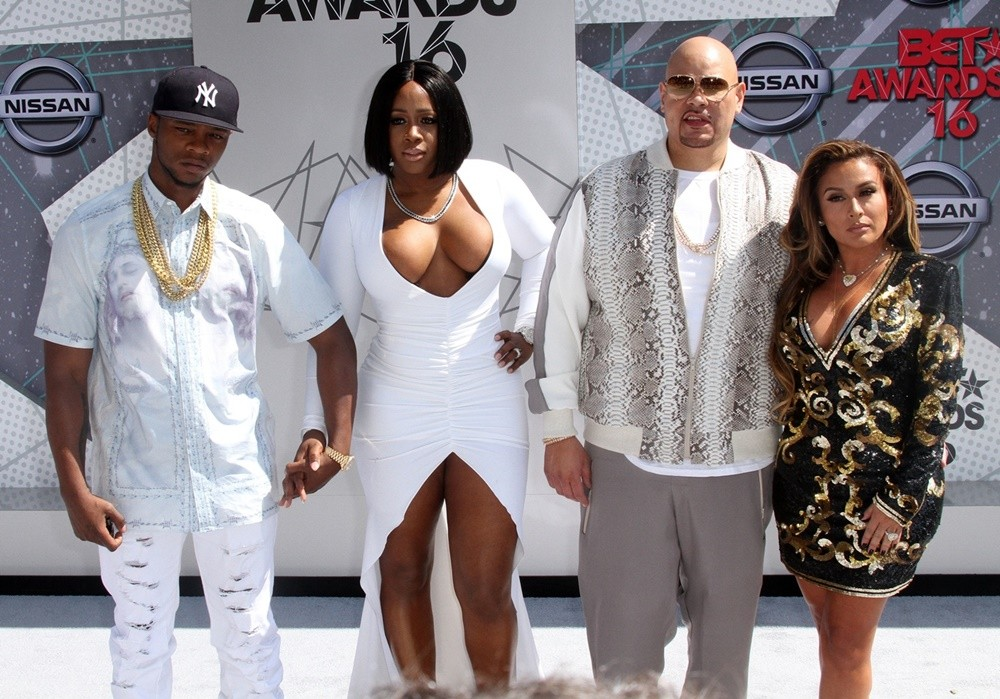 Papoose, Remy Ma, Fat Joe, Lorena Cartagena<br>BET Awards 2016 - Arrivals
