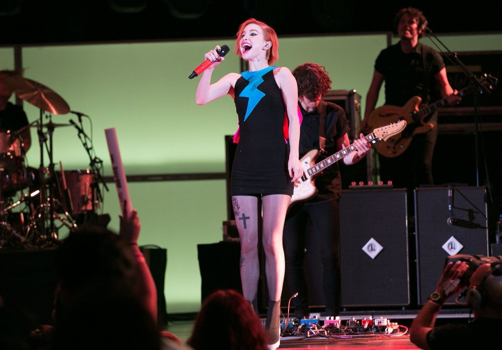 Hayley Williams, Paramore<br>We Can Survive 2014
