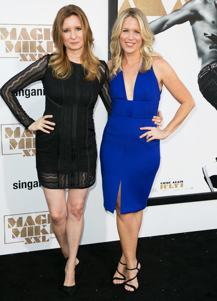 Lennon Parham, Jessica St. Clair<br>The Premiere of Warner Bros. Pictures' Magic Mike XXL