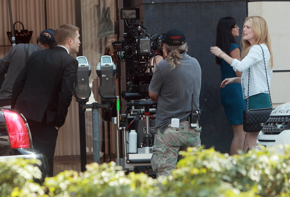 On Set of David Cronenberg's Film Maps to the Stars