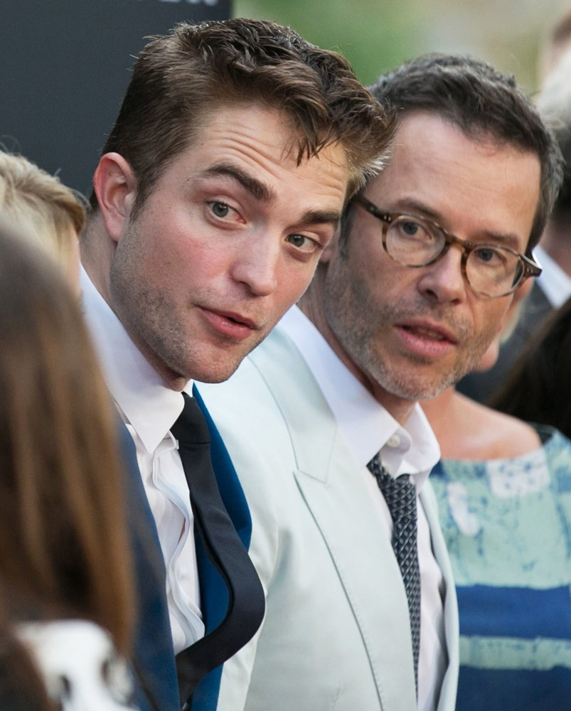Robert Pattinson, Guy Pearce<br>Los Angeles Premiere of The Rover - Arrivals