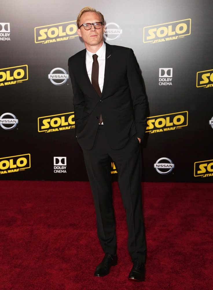 Paul Bettany<br>Premiere of Disney Pictures and Lucasfilm's Solo: A Star Wars Story - Arrivals