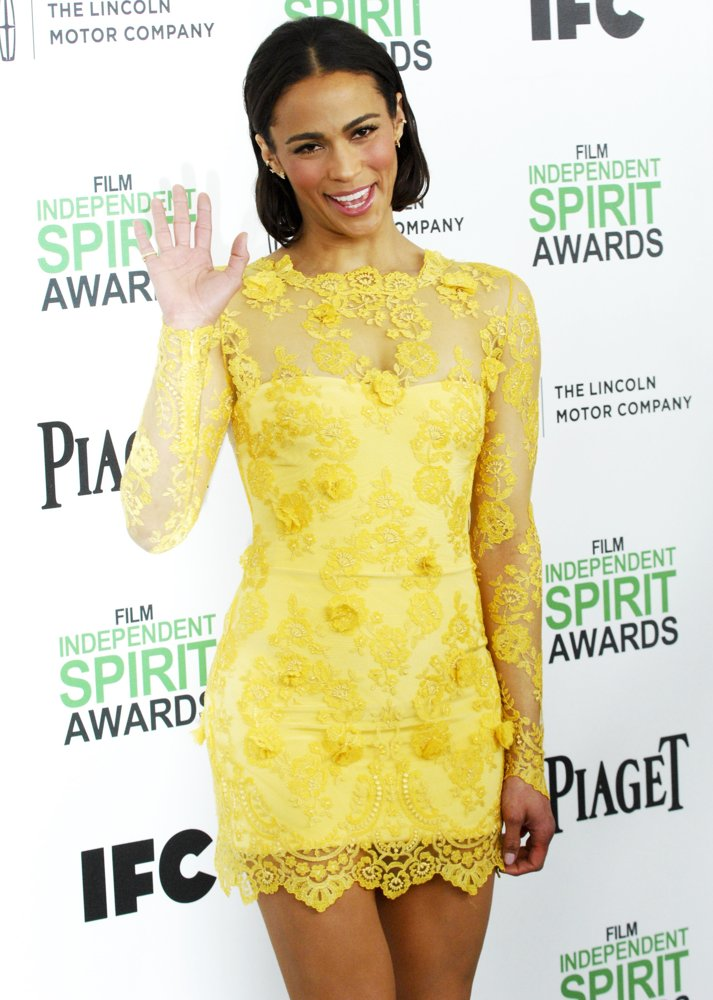Paula Patton<br>The 2014 Film Independent Spirit Awards - Arrivals