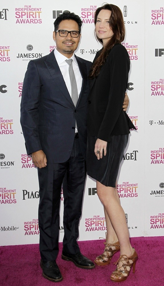 Michael Pena, Brie Shaffer<br>2013 Film Independent Spirit Awards - Arrivals