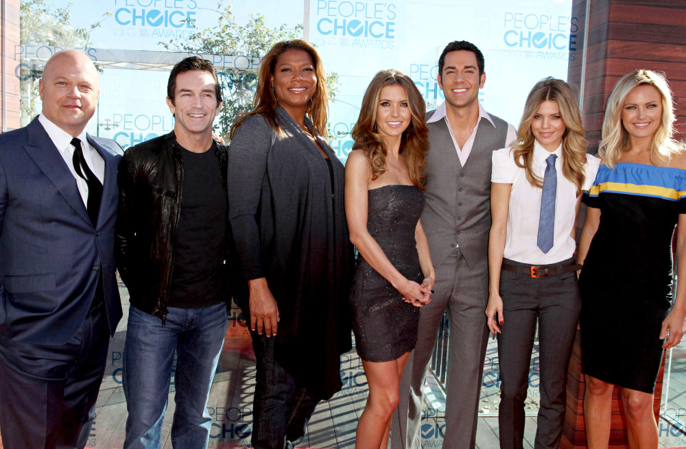 Michael Chiklis, Jeff Probst, Queen Latifah, Audrina Patridge, Zachary Levi, AnnaLynne McCord, Malin Akerman<br>2011 People's Choice Awards Nominations Announcement