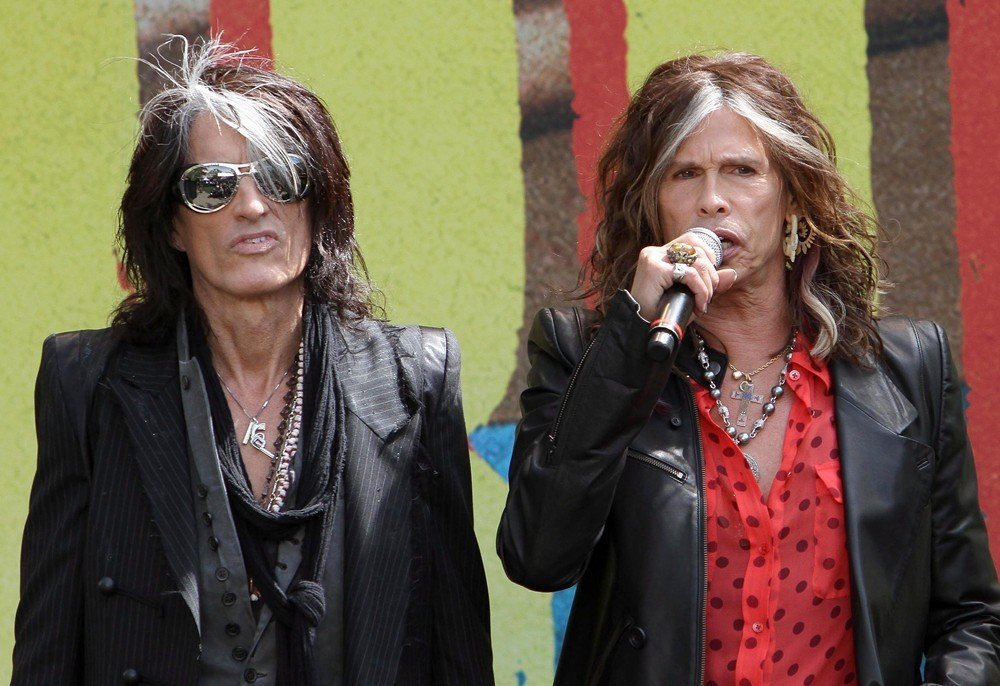 Joe Perry, Steven Tyler, Aerosmith