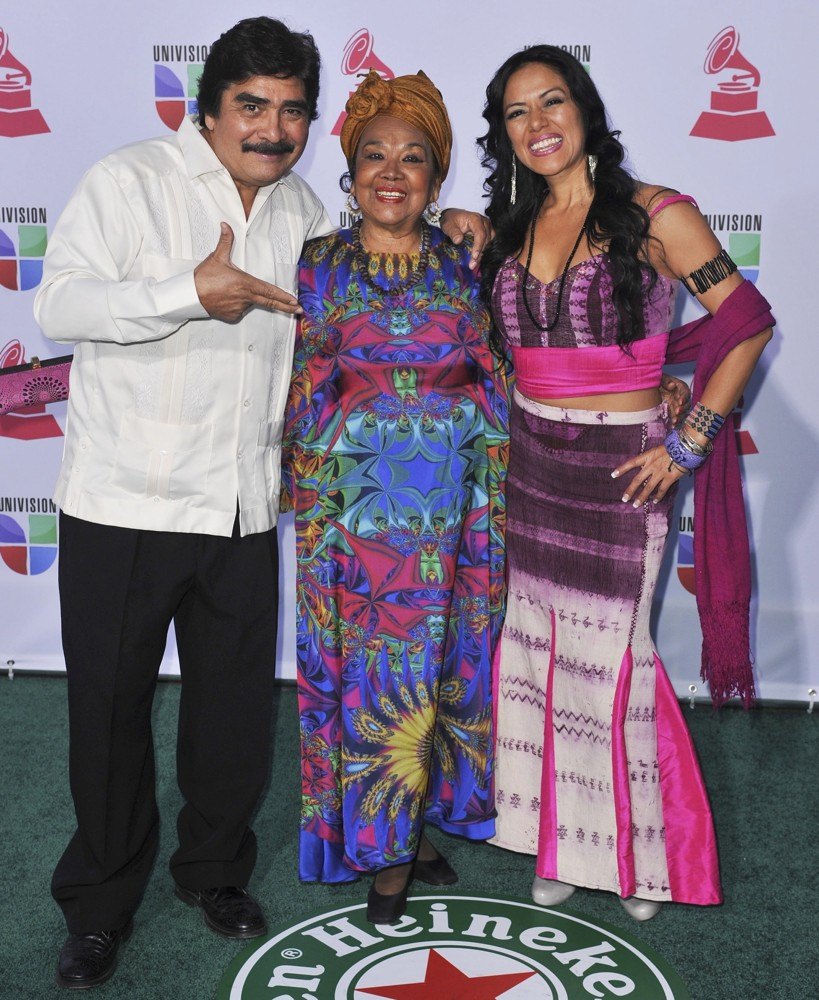 Celso Pina, Toto la Momposina, Lila Downs<br>13th Annual Latin Grammy Awards - Arrivals