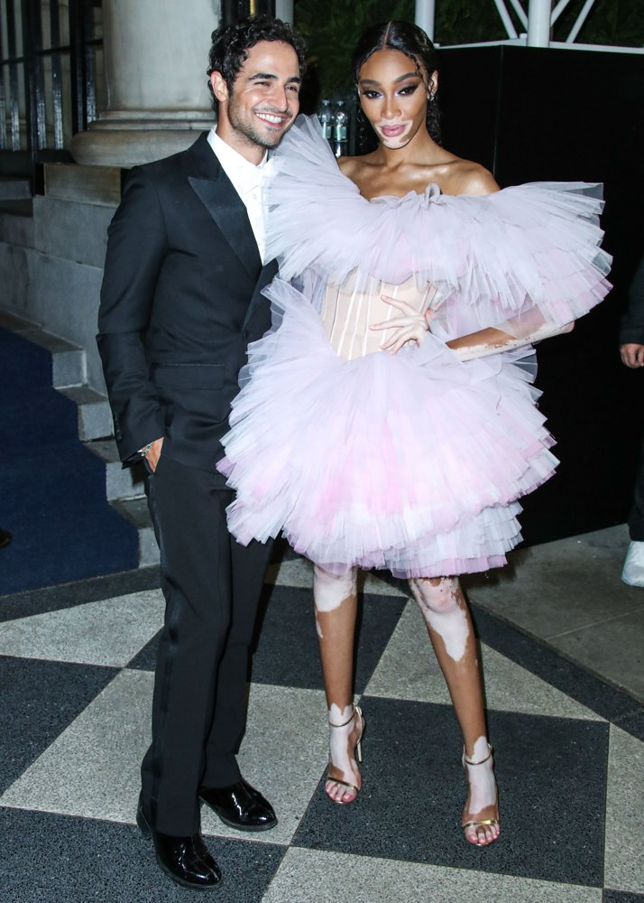 Zac Posen, Winnie Harlow<br>The 2019 Harper's BAZAAR Celebration of ICONS by Carine Roitfeld