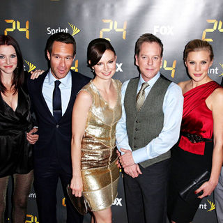 Kiefer Sutherland, Anil Kapoor, Annie Wersching, Chris Diamantopoulos, Mary Lynn Rajskub, Katee Sackhoff, Freddie Prinze Jr. in '24' Season Eight Premiere