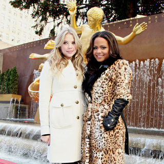 Ashley Benson, Christina Milian in ABC Family's Winter Wonderland