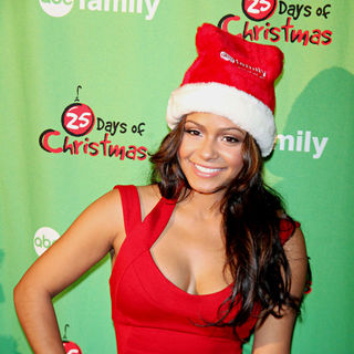 Christina Milian in ABC Family's Winter Wonderland