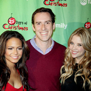 Christina Milian, Michael Riley, Ashley Benson in ABC Family's Winter Wonderland