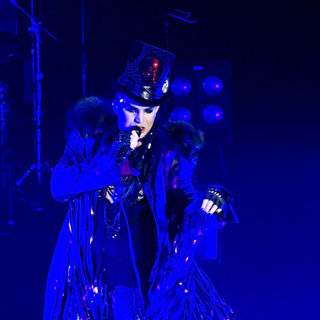 Adam Lambert - In Concert at The Nokia Theater as Part of Glam Nation Tour