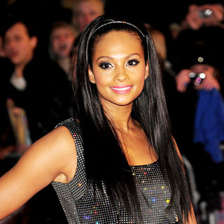 Alesha Dixon in The BRIT Awards 2010 - 30th Anniversary - Arrivals