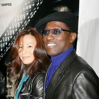 Wesley Snipes, Nikki Park in New York Premiere of 'Brooklyn's Finest'