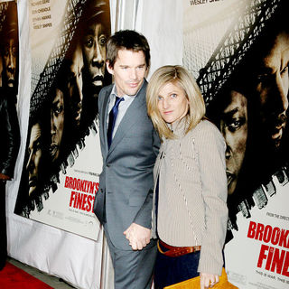 Ethan Hawke, Ryan Shawhughes in New York Premiere of 'Brooklyn's Finest'