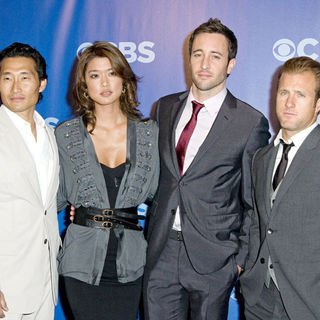 Daniel Dae Kim, Grace Park, Alex O'Loughlin, Scott Caan in CBS Upfronts for 2010/2011 Season