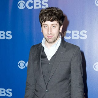 Simon Helberg in CBS Upfronts for 2010/2011 Season