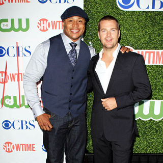 LL Cool J, Chris O'Donnell in 2010 CBS, CW, Showtime Summer Press Tour Party
