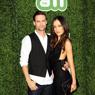 Shane West, Maggie Q in 2010 CBS, CW, Showtime Summer Press Tour Party