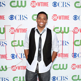 Tristan Wilds in 2010 CBS, CW, Showtime Summer Press Tour Party