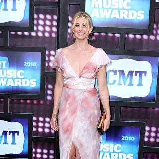 Faith Hill in 2010 CMT Music Awards Blue Carpet Arrivals