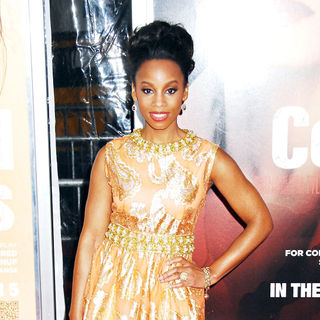 Anika Noni Rose in NYC Movie Premiere of 'For Colored Girls' - Arrivals