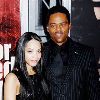 Bianca Lawson, Richard Lawson in NYC Movie Premiere of 'For Colored Girls' - Arrivals