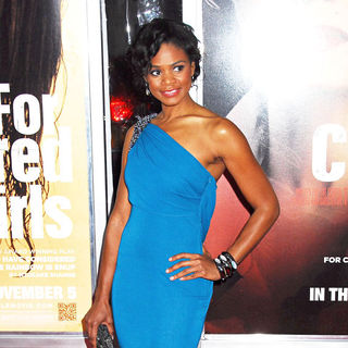 Kimberly Elise in NYC Movie Premiere of 'For Colored Girls' - Arrivals