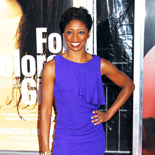 Montego Glover in NYC Movie Premiere of 'For Colored Girls' - Arrivals