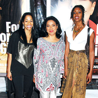 Phylicia Rashad in NYC Movie Premiere of 'For Colored Girls' - Arrivals