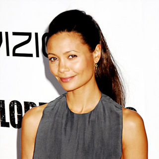 Thandie Newton in NYC Movie Premiere of 'For Colored Girls' - Arrivals