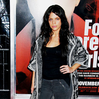 Vanessa Ferlito in NYC Movie Premiere of 'For Colored Girls' - Arrivals - Colored_Girls_2039_wenn5561630