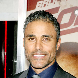Rick Fox in The NY Movie Premiere of 'Cop Out'
