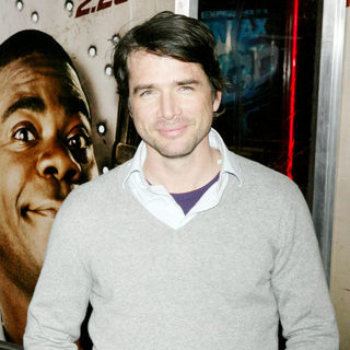 Matthew Settle in The NY Movie Premiere of 'Cop Out'