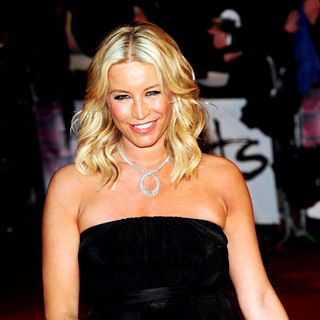 Denise Van Outen in The BRIT Awards 2010 - 30th Anniversary - Arrivals