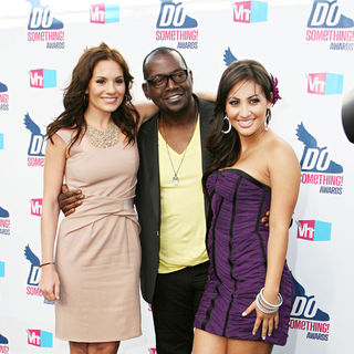 Kara DioGuardi, Randy Jackson, Francia Raisa in 2010 VH1 Do Something Awards