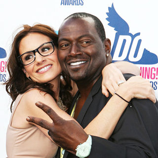 Kara DioGuardi, Randy Jackson in 2010 VH1 Do Something Awards