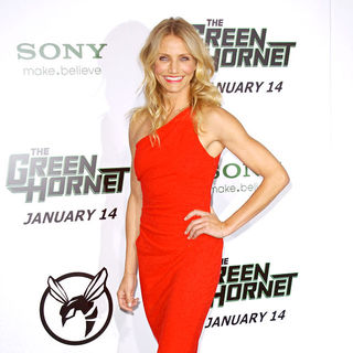 "Cameron Diaz in Premiere of Columbia Pictures ""The Green Hornet"" - Arrivals"