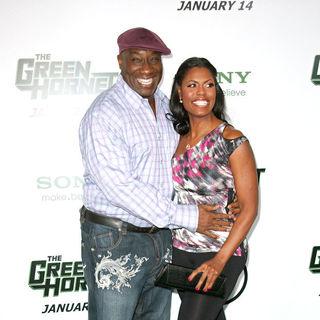 "Michael Clarke Duncan, Omarosa in Premiere of Columbia Pictures ""The Green Hornet"" - Arrivals"