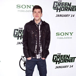 "Christopher Mintz-Plasse in Premiere of Columbia Pictures ""The Green Hornet"" - Arrivals"